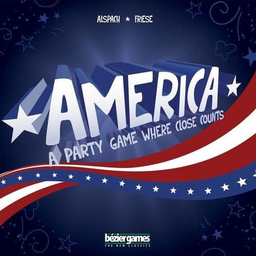 punto de venta Bezier Bezier Bezier Games America Board Game by  ahorra hasta un 70%