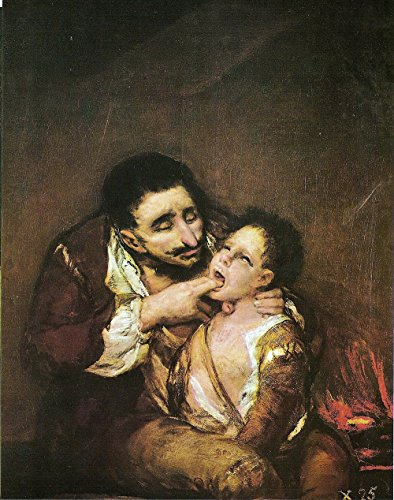 Spiffing Prints Francisco de Goya - El Lazarillo de Tormes - Small - Matte - Black Frame