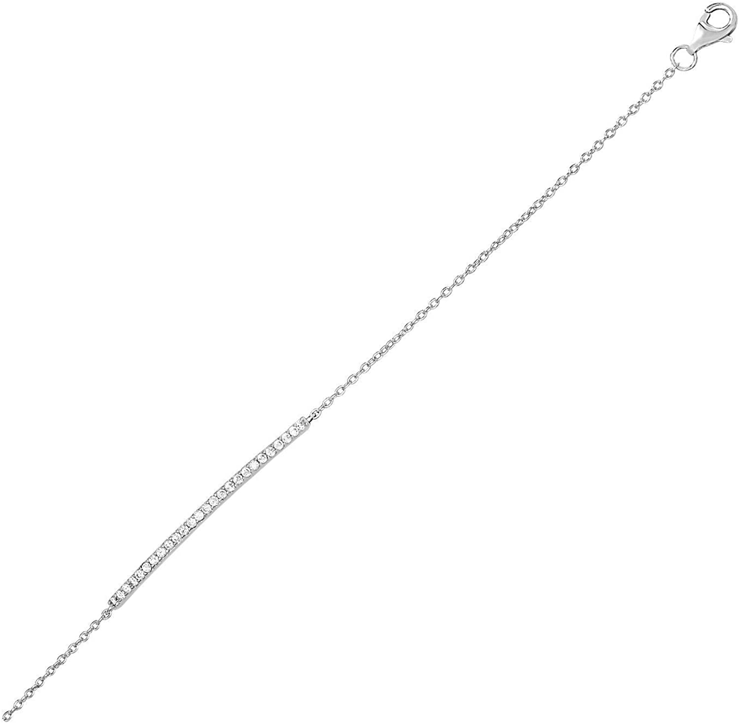 Richard Cannon Ranking TOP6 Jewelry Sterling Silver Bar Bracelet Curved 5 ☆ very popular with