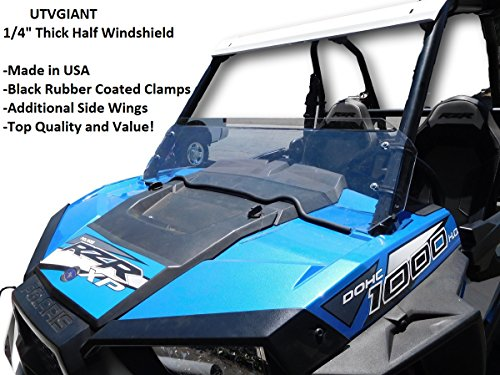 Polaris RZR S 900, RZR 900 Trail, RZR S 1000, Half Windshield 2015-2020 - 1/4