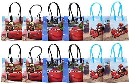 Disney Cars Party Favor Goodie Gift Bag - 6