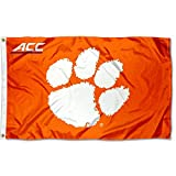 College Flags & Banners Co. Clemson Tigers Acc 3x5 Flag