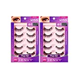 i Envy by Kiss So Wispy 03 Strip Eyelashes Value Pack #KPEM60 (2 Pack)