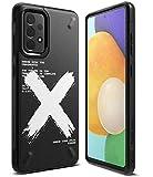 Ringke Onyx Compatible con Funda Samsung Galaxy A52 4G, 5G (6.5 Pulgadas) y Compatible con Funda Samsung Galaxy A52s 5G (2021) Carcasa Anti Huella Dactilar Antideslizante - X