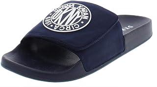 137d6172740d DKNY Womens Zo Faux Leather Sandals Flatform Sandals