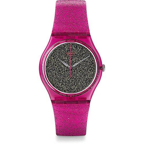 Swatch GP149 The Originals Nuit Rose - Reloj de Cuarzo para Mujer