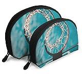 Basquetbol aro Shell forma bolsas portátiles bolsa de embrague monedero bolso cosmético unisex viaje almacenamiento bolsa multifunción niño monedero clave bolso 2 piezas