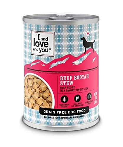 """I AND LOVE AND YOU"""" Naked Essentials Wet Dog Food"""