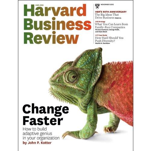 Harvard Business Review, November 2012 audiobook cover art