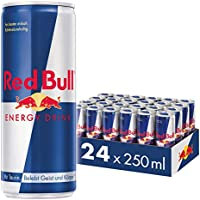 Red Bull - Original - 250 ml x 24 bottles - Energy Drink Can - Vitalized body and mind - Caffeine Content - Contains...