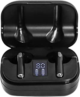 $22 » NINEFOX Wireless rbuds Sports Fi Stereo Waterproof with Charging Case Ergonomic Noise Reduce Universal ABS LED Battery Display Portable Handsfree uetooth 5.0(Black)