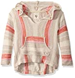 Billabong Girls' Girls' Baja Cove Sweater Brown XS/6
