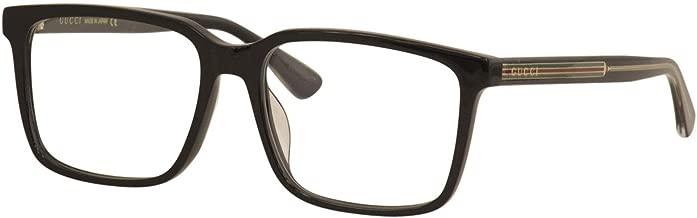 Eyeglasses Gucci GG 0385 OA- 001 BLACK /