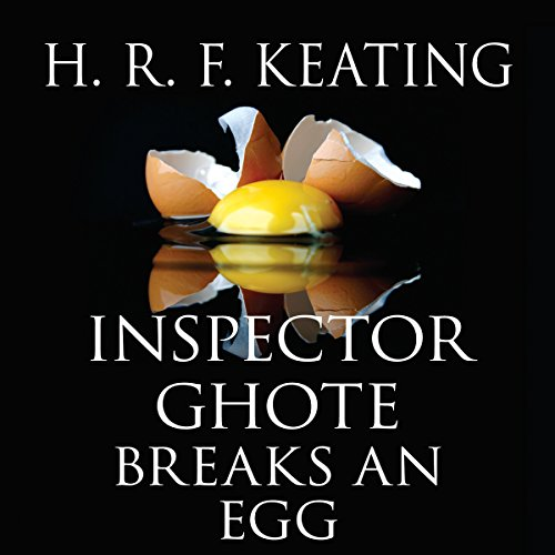 Inspector Ghote Breaks an Egg audiobook cover art
