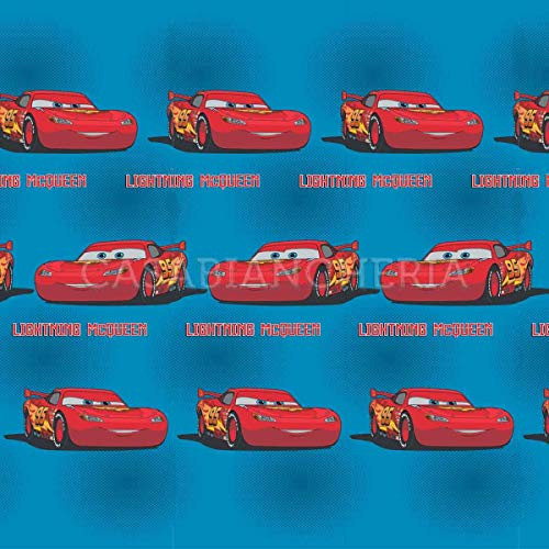 G & C Enterprise Colcha acolchada individual de Disney Cars Revhard