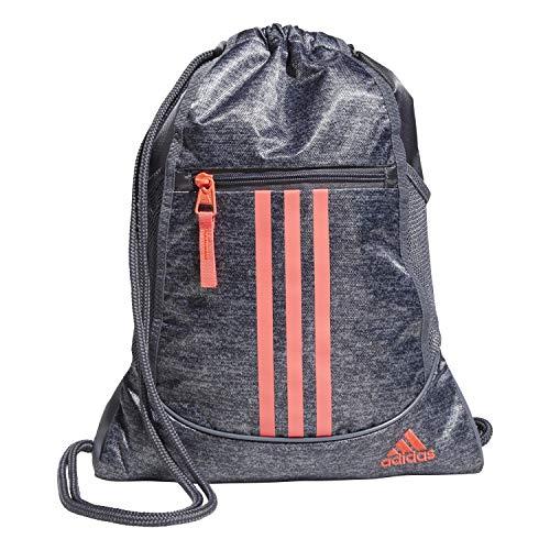 adidas Mochila Alianza II, Unisex, mochila Alliance ii, 104148, Jersey negro/rosa, Talla única