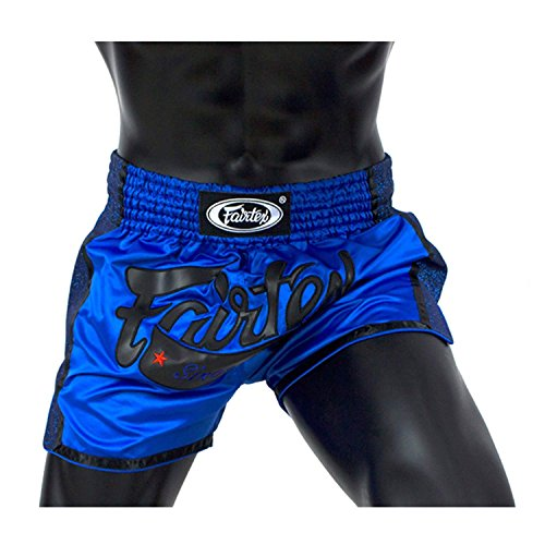 Fairtex New Muay Thai Boxing Shorts Slim Cut - Black, White, Red, Orange, Blue, Yellow, S, M, L, XL