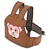 Kinder Sicherheitsgurt Hochfeste Kinder Motorrad Sicherheitsgurt Kind Elektroauto Einstellbar Sicherheitsgurt Kabelsatz für Jungen Mädchen(Affe)