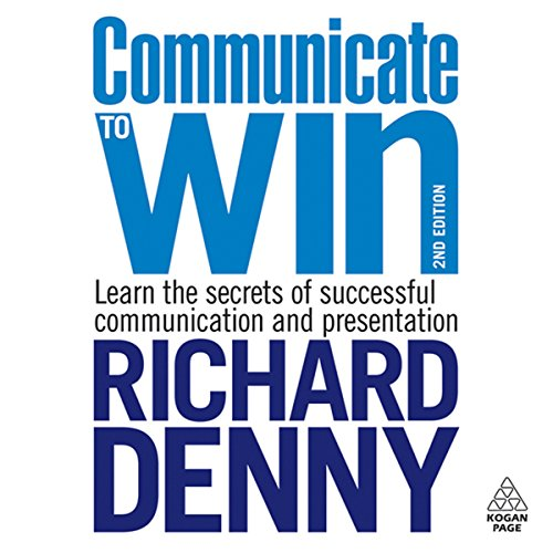 Communicate to Win audiobook cover art