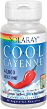 Solaray Cool Cool Cayenne 40,000 HU | Healthy Digestion, Circulation, Metabolism & Cardiovascular Support | 90 VegCaps