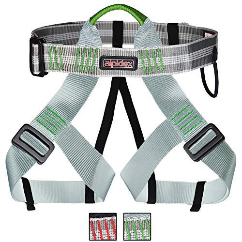 ALPIDEX Universal Klettergurt für Herren und Damen Sitzgurt zum Klettern mit verstellbaren Beinschlaufen