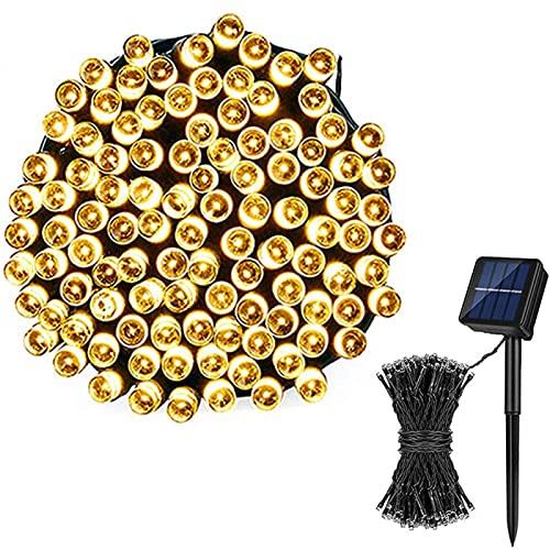 LCCDSD Luces Exteriores Luces De Cadena Solar Al Aire Libre 50/100/3 LE DS Fairy Garden Lights 8 Modos Impermeable Solar Fairy Lights Garden Decorative Light Ed Tiktok Linterna
