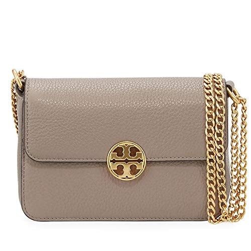 Tory Burch Crossbody Chelsea Mini Bag (Gray Heron)