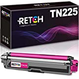 RETCH Compatible Toner Cartridge Replacement for Brother TN225M TN-225M TN225 Magenta for MFC-9130CW HL-3140CW HL-3170CDW HL-3180CDW MFC-9330CDW MFC-9340CDW MFC-9342CDW Printer (1 Magenta)