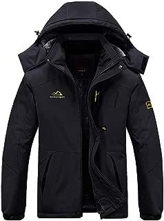 Men's Winter Coats Windproof Parka Fleece Lined Ski Snowboard Jacket Windbreaker