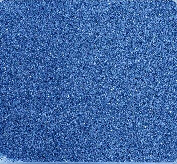 Gekleurd zand, decoratief zand gekleurd ca. 0,5 mm. 1 kg in blauw -90