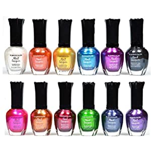 Beauty Shopping Kleancolor Nail Polish – Awesome Metallic Full Size Lacquer