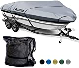 Leader Accessories 600D Polyester Runabout Boat Cover (Model A: 14'-16'L Beam Width up to 68'',...