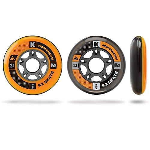 K2 Inline Rollenset mit Kugellagern Wheel 8-Pack/ILQ 7, 84mm, 3053011.1.1