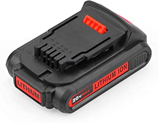 Upgraded DCB205 for Dewalt 20v Battery 2.5Ah XR Max Lithium Ion Compact DCB203 DCB204 20 Volt Batteries