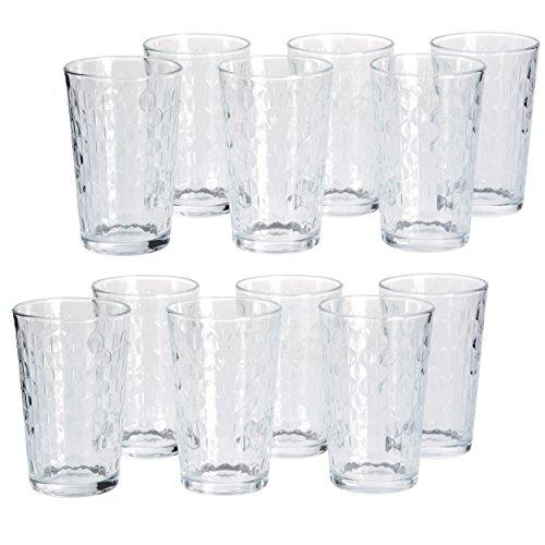 GRÄWE Trinkgläser Wassergläser 12 Stück 200 ml