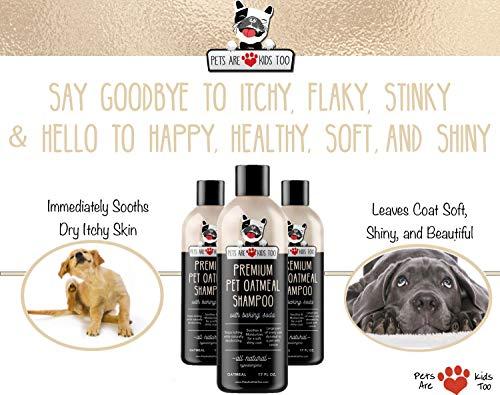 Pet Oatmeal Anti-Itch Shampoo