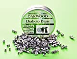 500balas Oakwood–Basic Diabolos de aire comprimido bolas–4,5mm–Fabricado en Alemania–Gastos de Envío libre.–para todos los zombi en Calibre: 4,5Diabolo Adecuado