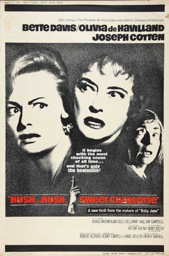 Hush Hush, Sweet Charlotte Poster Movie D 11 x 17 Inches - 28cm x 44cm Bette Davis Olivia de Havilland Joseph Cotten Agnes Moorehead Cecil Kellaway