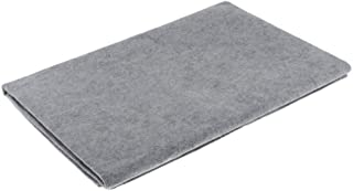 F Fityle Wool Felt Mat Desktop Practical Artists - Grey, as described