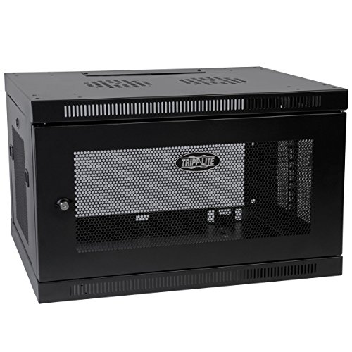 Tripp Lite 6U Wall Mount Rack Enclosure Server Cabinet, 20.5 in. Deep, Switch-Depth (SRW6UDP)