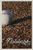 Notebook: Resultados de Béisbol convenient Composition Book Journal Diary for Men, Women, Teen & Kids Vintage Retro Design 10u Baseballs
