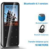 MP3 Player, 16GB MP3 Player with Bluetooth 4.1, Touch Button MP3 Music Player