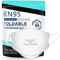 25-Pack WWDOLL 3D Design Cup KN95 Face Masks