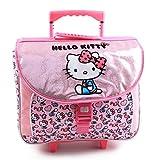 Jacob & Co. Trolley Schoolbag Hello Kitty Sac à Dos Enfants, 41 cm, Light Pink