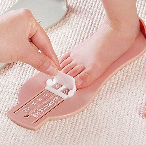 G-MOTIONES - Pedímetro para niños/bebé: medida para pies (máx. 30)