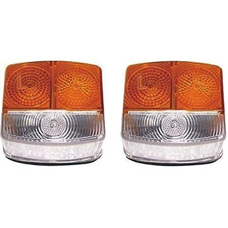 Bajato Vorne Seitenblinker Blinker Lampe Deutz Fahr Traktor Satz Von Links Rechts Ohne Glühlampen Auto