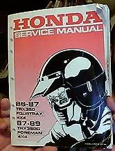 Best honda trx350d manual Reviews