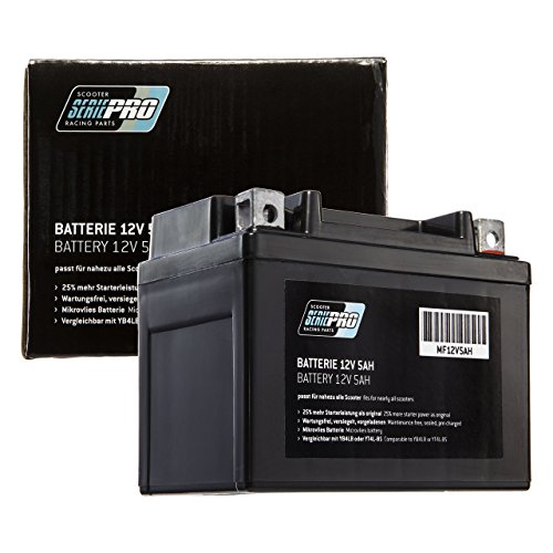 Batterie Serie Pro 12V 5AH (SLA4L-BS) Rollerbatterie (versiegelt/wartungsfrei) 112x68x89mm