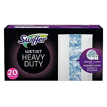 Swiffer WetJet Heavy Duty Mopping Pad Refill 20 Count