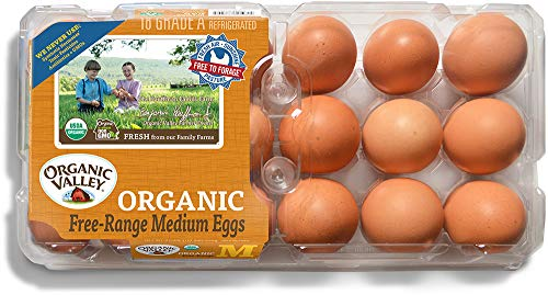 Organic Valley, Organic Free-Range Medium Brown Eggs - 18 ct